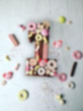 Chocolate Birthday Cake Number One First Birthday Cake