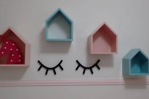 Par de Cílios 3D