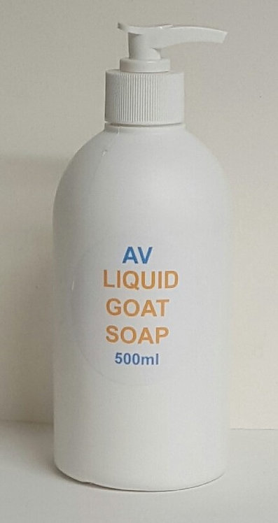 Liquid Goat Soap - 500ml