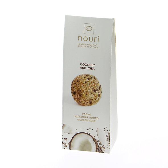 Nouri Coconut & Chia (pack of 5)
