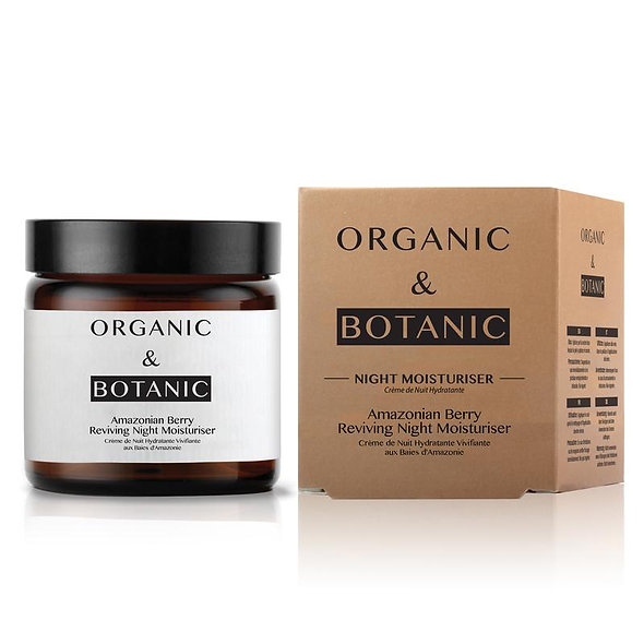 Organic & Botanic Amazonian Berry Reviving Night Moisturiser