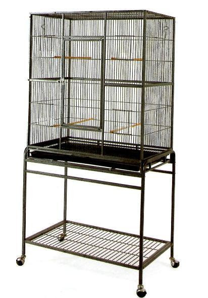 Flight cage on wheels