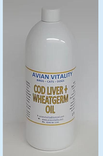 Cod Liver & Wheatgerm 1 litre