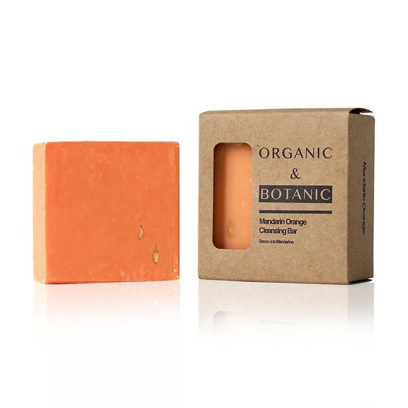 Organic & Botanic Mandarin Orange Cleansing Bar