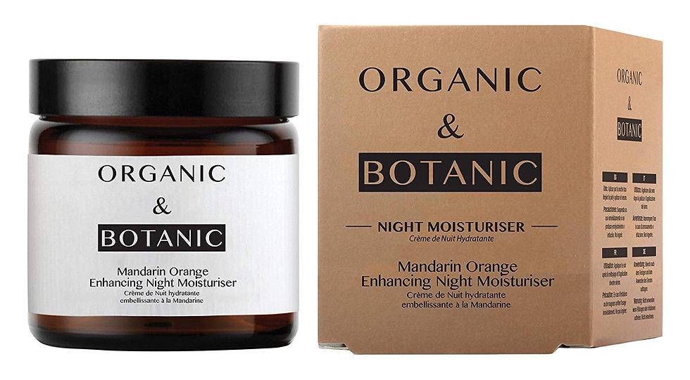 Organic & Botanic Mandarin Orange Repairing Night Moisturiser