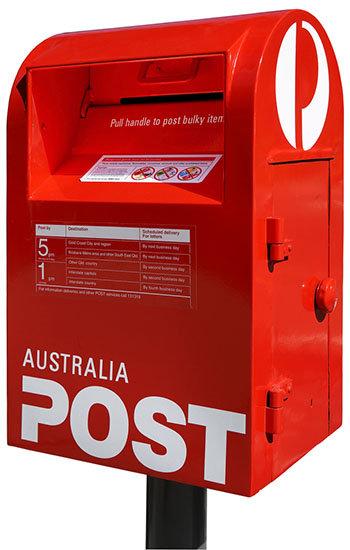 Australia post bag
