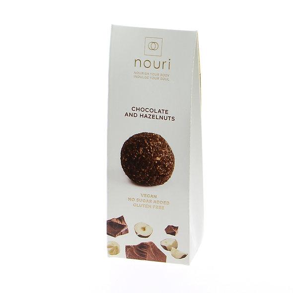 Nouri Chocolate & Hazelnut (pack of 5)