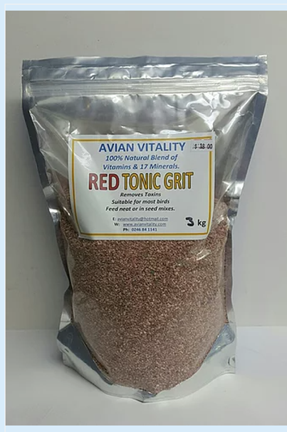 Red Tonic Grit - 3 sizes