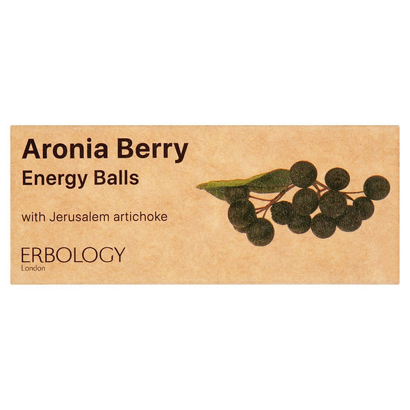 Erbology Organic Aronia Berry Energy Balls (24 packs)