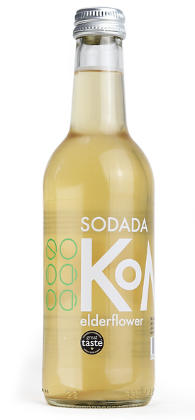 Sodada Double Fermentation Elderflower Kombucha (6 x 330ml)