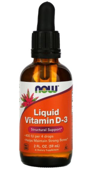 Liquid Vitamin D-3 - 59ml