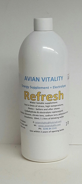 Refresh - Electrolyte - frm $30