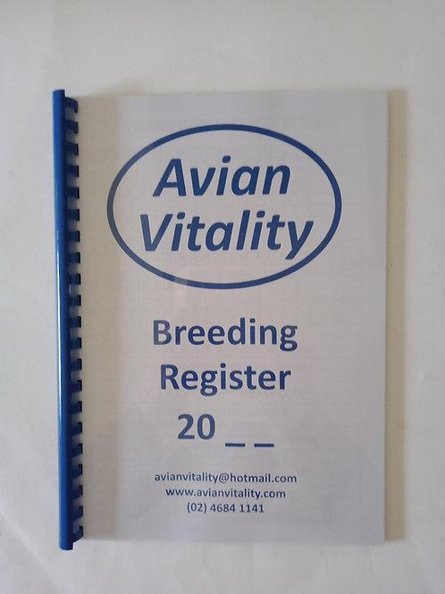 Bird Breeding Register