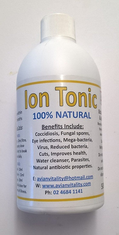 Ion Tonic frm $18.00