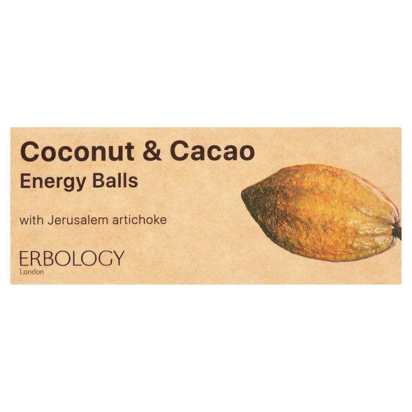 Erbology Organic Coconut Cacao Energy Balls (12 packs)