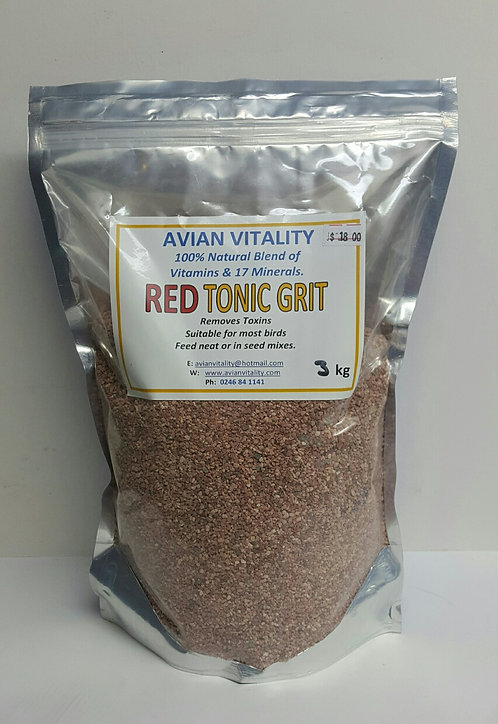 Red Tonic Grit frm $7