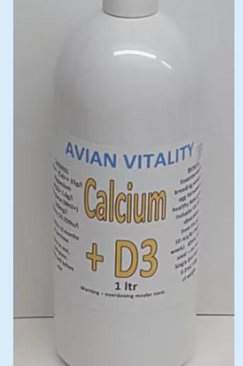 Calcium + D3 liquid 1 ltr