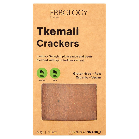 Erbology Organic Tkemali Crackers (pack of 12)