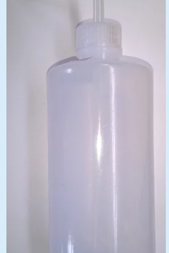 Water top up bottle