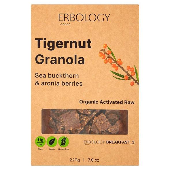 Erbology Organic Tiger Nut Granola - Sea Buckthorn & Aronia (pack of 3)