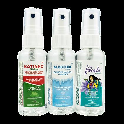 Katinko Alcohol 50ml Trio Pack