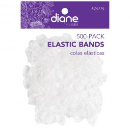 Diane Elastic Bands, 500 Pack