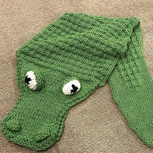 Alligator Blanket Pattern