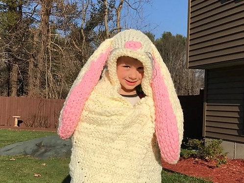 Hooded Bunny Blanket