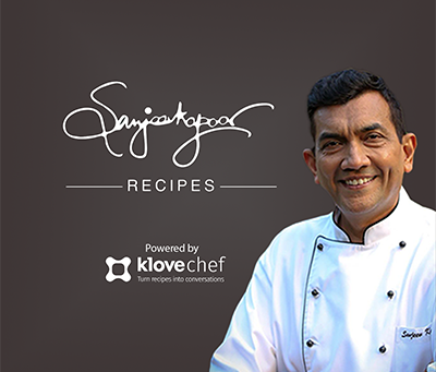 WE ARE COOKING WITH CHEF SANJEEV KAPOOR! WHAT ABOUT YOU?