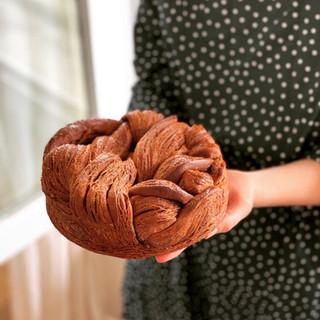 Brioche feuilletée au chocolat