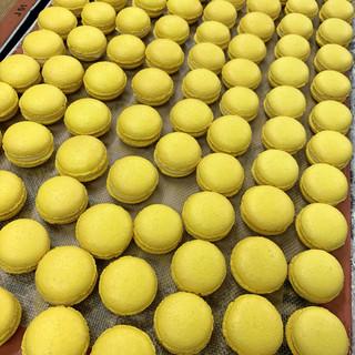 Macarons à la passion