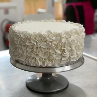 Premier base d'un gâteau à étage