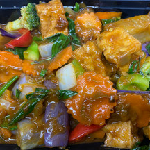 Basil Eggplants $ Tofu
