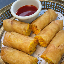 Spicy Cheese Rolls