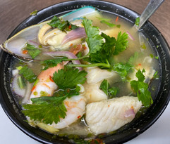 Steamed Mixed Seafood