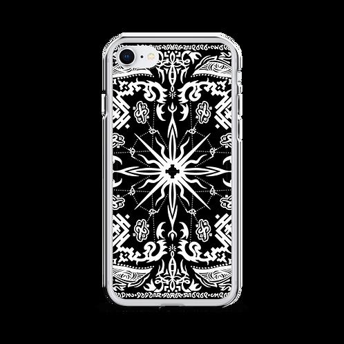 """Bandana"" iPhone Case invert"