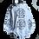 Thumbnail: Key tattoo hoodie snow