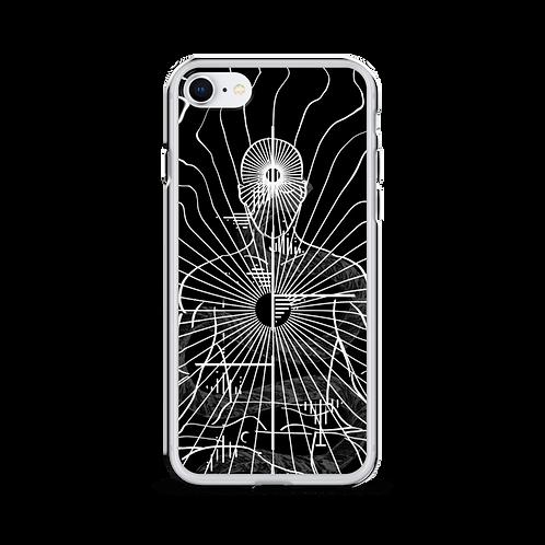 """""""Center"""" iPhone Case black"""