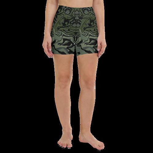 """Topography"" Women's Shorts"