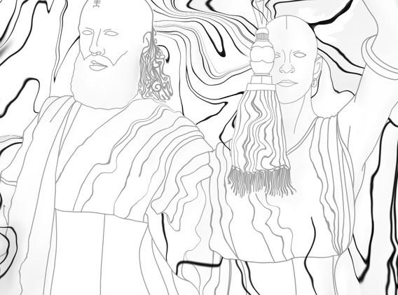 Return to the Well - LVDF x SYZYGY (Album Art Inverted)