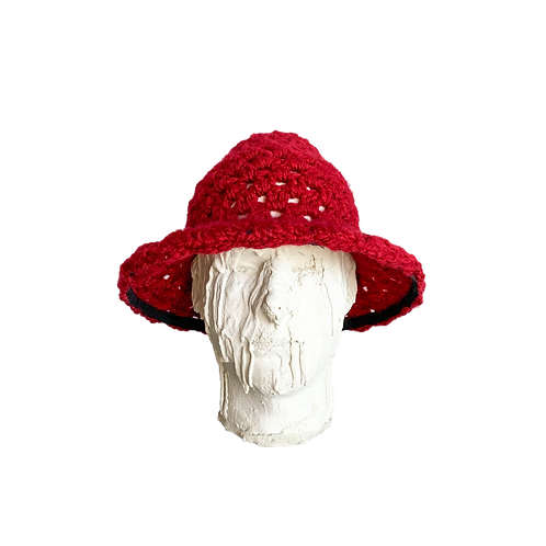 Crochet Hat Garnet