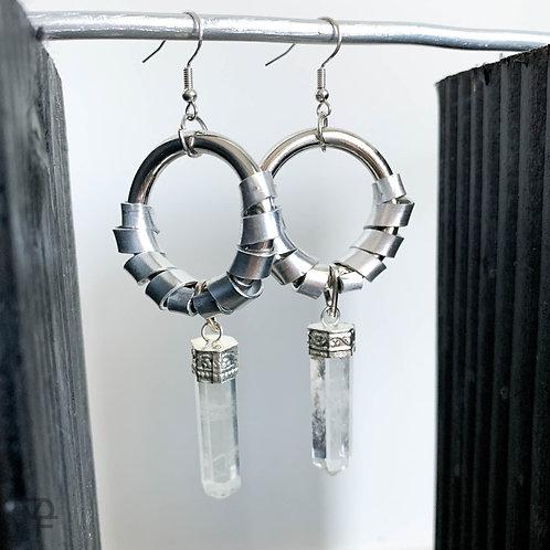 Quartz Portal Earrings