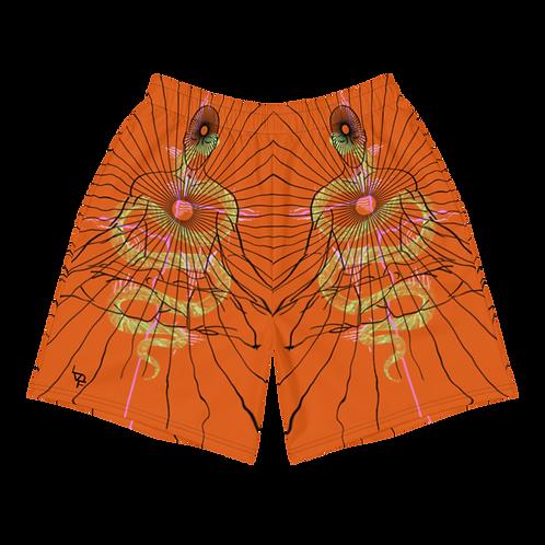 """""""Center"""" Athletic Shorts orange"""