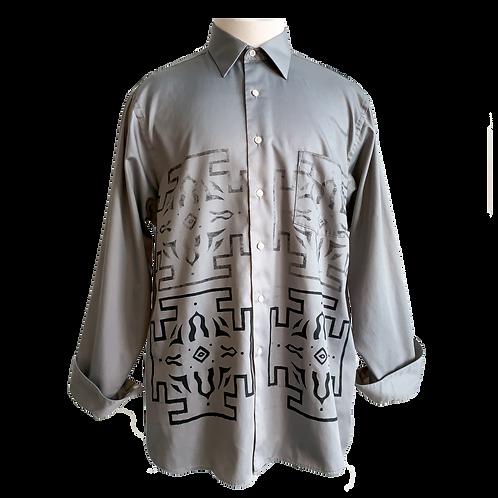 Up the Cycle shirt grey