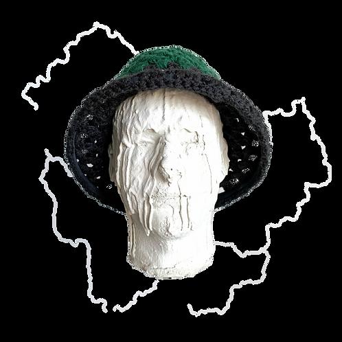 Crochet Top hat Emerald