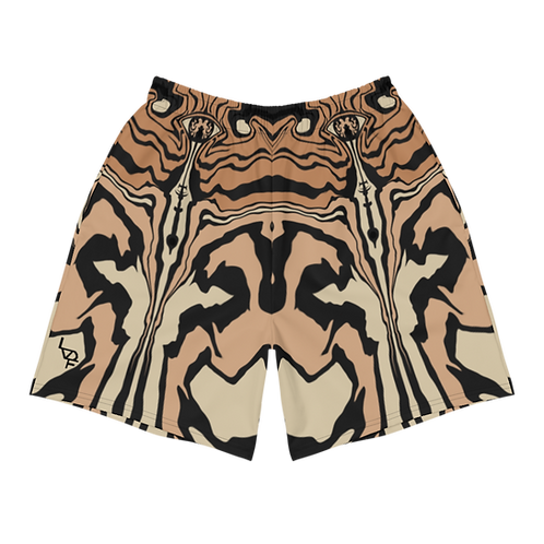 """""""Topography"""" Athletic Shorts"""