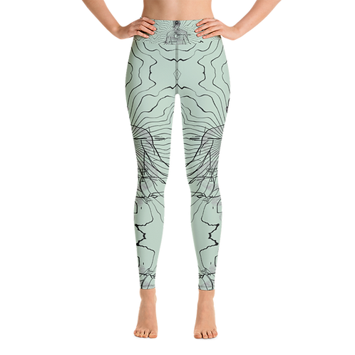 """Center"" Women's Leggings Mint"
