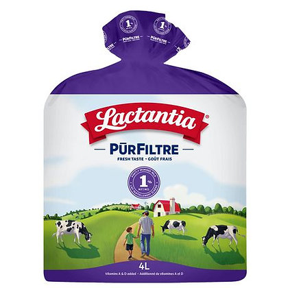 Lactantia Pur Filtre Milk 1% (4L)