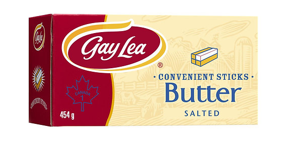 Gay Lea Butter Stick (Salted) (454G)