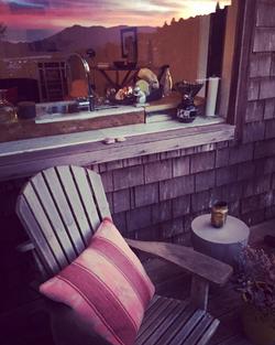 ModNomad Studio Porch & Reflection